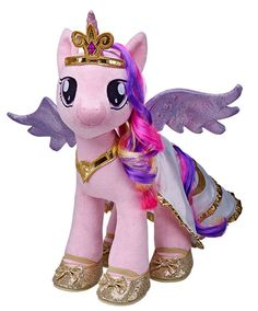 Build-a-Bear Cadance and Luna and Shining Armor now available. | All About MLP Merch