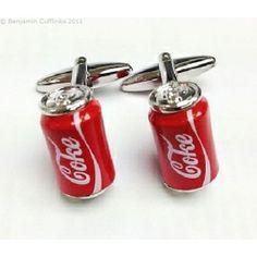 Cola Can Cufflinks