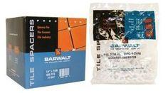 Barwalt 10023 Precision Tile Spacers - 1/8 Inch + Reg Long Bag - 150 Pieces