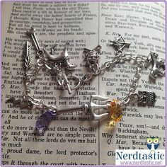 Percy Jackson Heroes of Olympus Custom Charm by shopNerdtastic