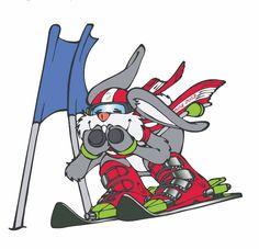 Hopsi - das Maskottchen der Schi-WM 2013 in Schladming stammt aus der Feder von Christian Seirer, Character Designer und Maskottchen Designer. Sonic The Hedgehog, Designer, Skiing, Fictional Characters, Ski