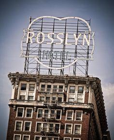Rosslyn Hotel by Marc Shur