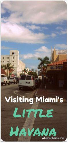 Visiting Miami's Little Havana http://www.wheressharon.com/family-trip-usa-caribbean/road-trip-usa/boca-raton-childrens-museum-little-havana/ #LittleHavana #miami #familytravel