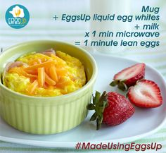 We got you this unbelievably easy 1 Minute Microwave Egg recipe. Try this now using #EggsUp and share your experience with us in comments section below!  Available at Bigbasket: http://bit.ly/2opMtpe