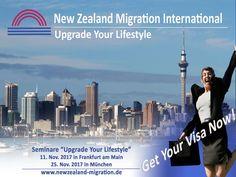 Auswandern Neuseeland - Seminare im November 2017 Australia Migration, Live Your Life, Cn Tower, New Zealand, Maine, November, Explore, Travel, Things To Do