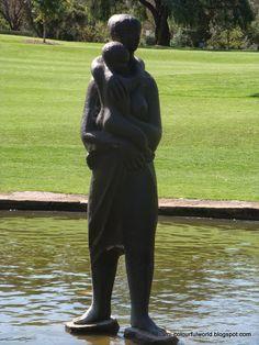 Pioneer Women's Memorial - Kings Park  sami's colourfulworld