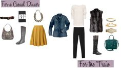 Capitol Hill Style - Two Ways: Chambray MadewellShirt: love chambray, love mustard, love tights and boots!