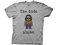 NWT Ripple Junction Needle Point Dude Big Lebowski Adult T Shirt MULTICOLOURED S