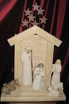 Greene Acres Hobby Farm: DIY Nativity Creche