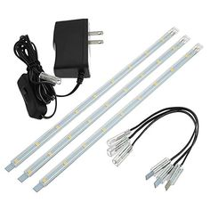 LEDwholesalers Linkable Under Cabinet Light Set of LED Strips, - Home and Kitchen Products Library