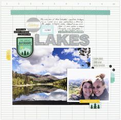 Payson Lakes by craftyjenschow at Studio Calico