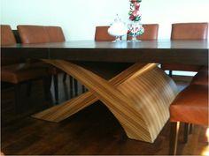 Base de comedor Paloma  Para cubierta de cristal o de madera