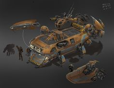 ArtStation - Cancelled Sci-Fi Project, Sean McNally