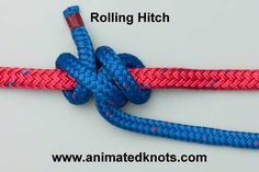 Rolling Hitch | How to tie the Rolling Hitch and Midshipman's Hitch | Boating Knots