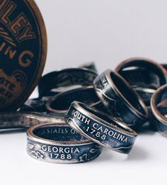 These are awesome. :: Custom State Quarter Ring