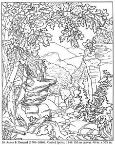 Download Landscapes Coloring Pages Drawing Ideas for Kids