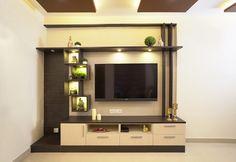 HomeLane: Full Home Interior Design Solutions, Get Instant Quotes. Tv Unit Interior Design, Tv Unit Furniture Design, Bedroom Furniture Design, Lcd Unit Design, Room Interior, Living Room Partition Design, Room Door Design, Home Room Design, Modern Tv Room