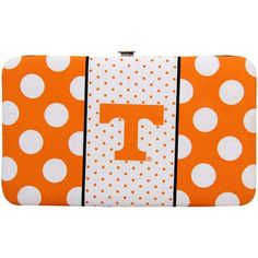 University of Tennessee Wallet, Volunteers Wallets, Money Clip Moving To Tennessee, Tennessee Girls, Polka Dot Flats, Polka Dots, Tennesse Volunteers, Vol Nation, Tn Vols, Fan Store, Sport Craft