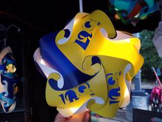 L A Rams Star Shaped Puzzle Lamp by GetLightMe on Etsy
