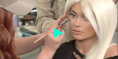 Watch Kylie Jenner Get Transformed into a Snow Princess in This Mesmerizing Video