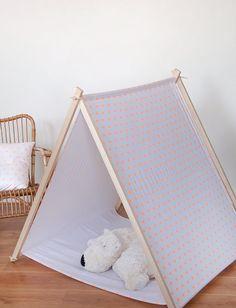 Tente pour enfants en bois