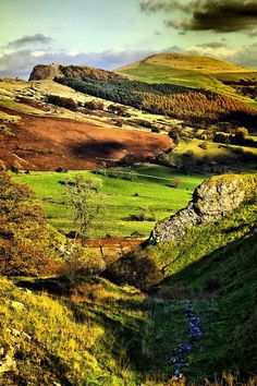 Hope Valley, Derbyshire, Peak District National Park, England.