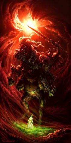 Four Horsemen: War by EdCid.deviantart.com on @deviantART