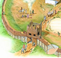 iron age hill forts - Google Search