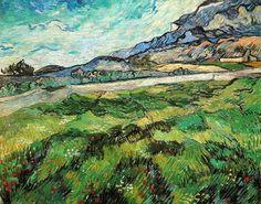 Champ de blé vert - Vincent VAN GOGH - début mai 1889
