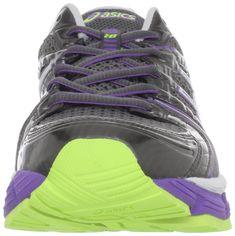 d8141999031f ASICS Womens GELKayano 18 Running ShoeTitanium White Neon Purple5 M US --  Details