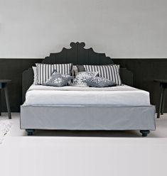 Gervasoni wood bed gray e grey Womens Windbreaker, Wood Beds, Grey Bedding, Toddler Bed, Furniture, Home Decor, Driftwood Furniture, Gray Bed, Scandinavian Bedroom