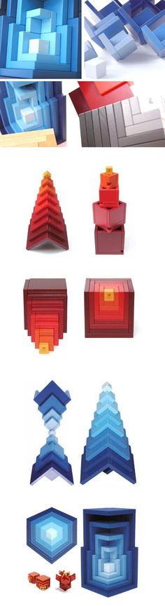 Naef Cella Swiss Wooden Puzzle Stacking Toy | NOVA68 Modern Design
