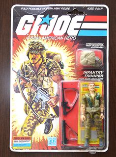 GI Joe Footloose Infantry trooper - Vintage - Hasbro 1985