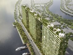 Diamond Lotus by Vo Trong Nghia Architects