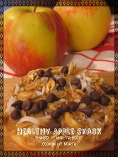 cookin' up north: Healthy apple snack...pinned it and tried it