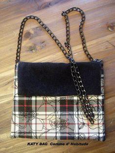 Tartan Shoulder belt Bag by AudreyAccessories on Etsy, €45.00