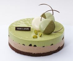 TLJ Green Tea Mousse Cake