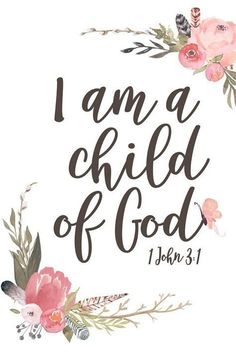 """When I think about """"I am a child of God"""", I am very touched and proud. Because my father is God who regins all the universe. I am the pincess! #bible #biblejournaling #biblestudy #jesus #kids"""