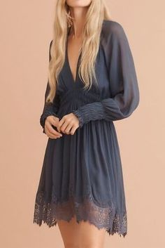 blue-grey lace trim dress | 20 Lace Anniversary Gifts – Lucky in Love for the 13th Year | Celebrate this special occasion with thoughtful gifts | Gift ideas and inspiration by Love & Lavender #gifts #gift #anniversarygift Presents For Your Boyfriend, Best Anniversary Gifts, Lucky In Love, Luxury Candles, Lace Print, Inspirational Gifts, Thoughtful Gifts, Blue Grey, Special Occasion