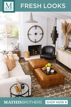 The season's sense of renewal has inspired us to create the new looks in fresh colors and styles. Room Decor, Home And Living, Living Room Decor, Country Dining Rooms, New Living Room, Home, Home Furniture, Good Living Room Colors, Living Room Designs