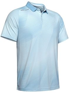 Under Armour Mens Tour Drop Zone Polo Shirt - GolfOnline Drop Zone, Black Polo Shirt, Under Armour, Ss, Polo Ralph Lauren, Pattern, Mens Tops, Gifts, Ideas
