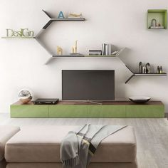 Those boring wall shelves can be gone forever once you decorate your indoor walls with the amazing Tarvo Wall Shelf. They portray the parallel divergence o