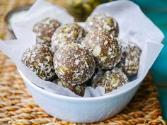 Tasty, chewy and nutritious apricot cashew pumpkin seed bliss balls are so easy to make. Gluten free, dairy free, no added sugar and high protein.