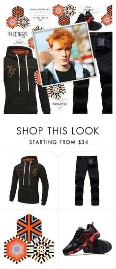 """""""Newchic style - Man's fashion"""" by mymilla on Polyvore featuring Kinder GROUND, men's fashion e menswear"""