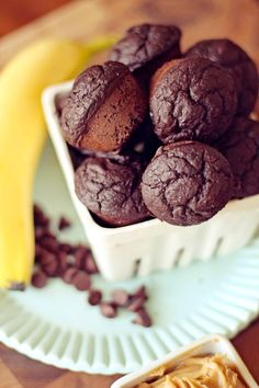 Chocolate Chunk Muffins  @dashingdish.com