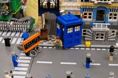 Time to Leave - Lego Tardis, Doctor Who
