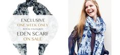 Kate's Eden Scarf on sale at Beulah London until Monday (25th Aug 2014)