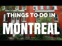 30 Things to do in Montreal | Top Attractions Travel Guide - YouTube