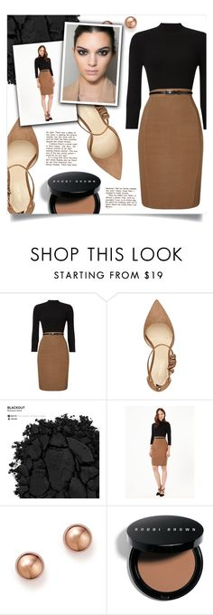 """""""Untitled #626"""" by metalhippieprincess ❤ liked on Polyvore featuring Phase Eight, Nine West, Urban Decay, Bloomingdale's and Bobbi Brown Cosmetics"""