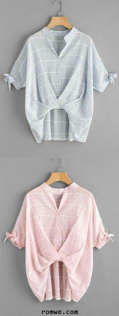 4cfcd6f67e05 Модные асимметричные блузки с акцентом на детали. | Мой милый дом Blouse  Styles, Blouse